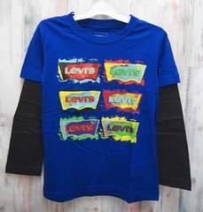 LEVI'S リーバイス 長袖Tシャツ 110cm(5-6才) ブルー