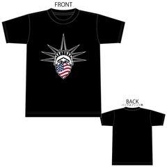 自由の女神 星条旗 Tシャツ TEE 半袖 半袖Tシャツ 1603 M