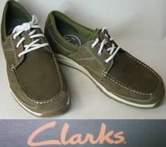 クラークス新品CLARKSカジュアル デッキ シューズ63628us9.5