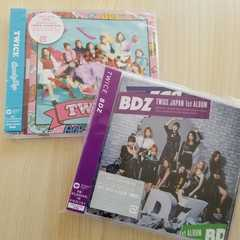 TWICE☆FC限定盤セット『BDZ』『CandyPop』