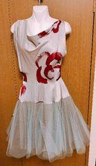 ヴィヴィアンLEDLABELシルバー系 ドレス サイズ2