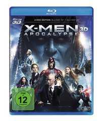『X-Men アポカリプス 3D』Blu-ray ブルーレイ