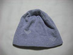 wb217 ROXY ロキシー リバーシブル ニット帽 グレー