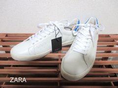 ☆ZARA/ザラ レトロ スニーカー/メンズ/28cm/白☆新品