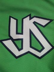 野球 東京ヤクルトスワローズ TOKYO 燕 プロジェクト 2014 ユニフォーム 緑 フリーサイズ