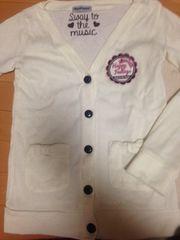 ニットカーディガン☆白☆ホワイト☆セーター