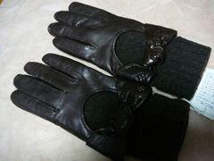 アンテプリマ羊皮革手袋ニットインナー21M