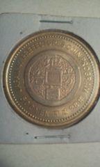 記念硬貨地方自治法施行60周年記念貨幣福島県500円1枚未使用品22