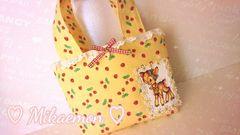 strawberry cute♪バンビのフリルバッグ