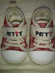 中古。靴。赤系。12,5センチ
