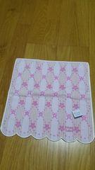 新品 プライベートレーベル フェイスタオル(ハンドタオル) ピンク 花柄