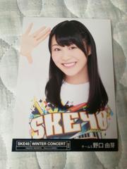 SKE48 2015冬コンサート 野口由芽特典写真