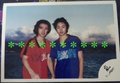 レア★嵐<大野智/櫻井翔>公式写真*嵐ロゴ*1999ハワイ船上�@