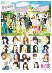 E-girls●メンバー集合●クリアファイル●新品