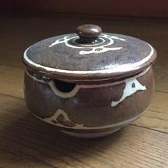 口切 陶器 蓋付容器