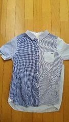水色の半袖シャツ【179/WG】