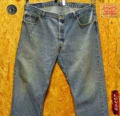 大きいサイズW42(112cm)リーバイス501・股下82cm