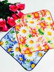 新品〈U.Prenoma〉花柄タオルハンカチ(2枚セット)
