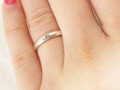 4222/TIFFANYティファニー宝石入り素敵なデザインの指輪9号位