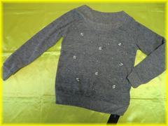 ☆新品☆イング/INGNI*ミル起毛パール装飾付きニット・セーター