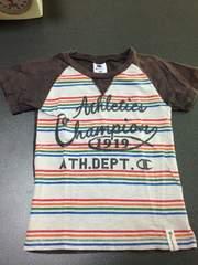 チャンピオン!100cm半袖Tシャツ!保育園着替え!