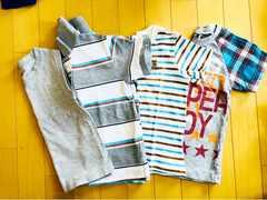 半袖/Tシャツ/幼稚園/保育園/小学校/110cm