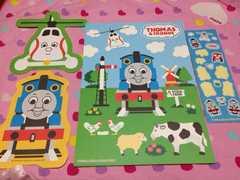 レア★機関車トーマス★便箋セット★中古のクリアファイル付