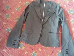 M グレー薄手ジャケット