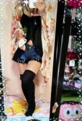 涼しげなスケスケ〜♪カラフルお花柄のお洋服♪