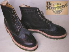 ドクターマーチンDrMartensウイングチップ ブーツ15784640uk8