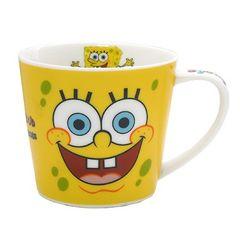 ☆新品☆スポンジボブ≪フェイス≫陶器製マグカップ♪