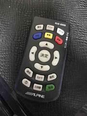 ALPINE/アルパイン フリップダウンモニターリモコンRUE-2200