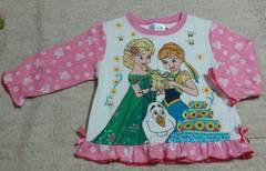 アナと雪の女王☆キルト素材のパジャマ☆size100