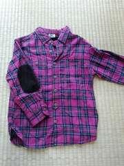 BACKNUMBERKIDSのチェックシャツ100�p