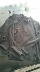 150/フリース長袖 2枚まとめ売り 黒色