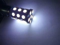24V LED S25 シングル球 ホワイト 白  27連  2個 マーカー球