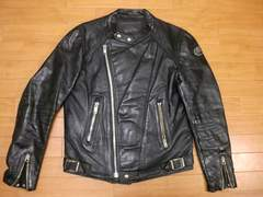 70年代 ヨーロッパ MOTO MAN ライダースジャケット L
