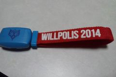 ■BUMP OF CHICKEN■willpolis2014☆ザイロバンド赤