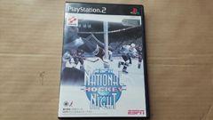 PS2☆ESPNナショナルホッケーナイト☆状態良い♪ホッケーゲーム。KONAMI。