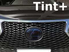 Tint+何度も貼れる レクサスNX300h エンブレム スモークフィルム