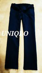 【UNIQLO】コーデュロイイージーパンツ M/Navy