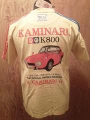 新作/カミナリ雷/Tシャツ/ヨタハチ/CUS/L/KMT-62/エフ商会/テッドマン/東洋