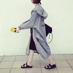 ★新品★大きいサイズ★LL〜4L★バックロゴ刺繍ゆったりロングジャンパー
