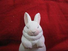 レア限定 寝るウサギ ミニフィギュアマスコット 非売品 新品
