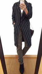最終出品【美品】ROPE'/ロペ◆定価17280円◆大人カーキ◆カーゴパンツ
