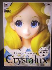 Disney Characters Crystalux アリス フィギュア Q posket