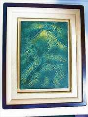 日本を代表する彫刻家 北村西望 『冬嶺秀古松』 高岡銅器