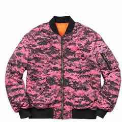 Supreme 17F/W Pink Digi Camo MA-1