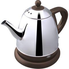ドリテック電気ケトルコーヒー ドリップ0.8L(ブラウン)
