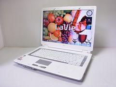 直ぐ使えるWindows7搭載 人気ホワイトLaVie 美品1円スタート